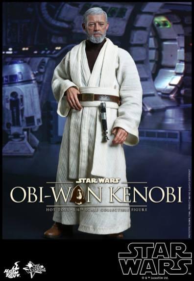 Hot Toys Obi Wan Kenobi - at ease