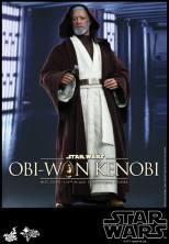 Hot Toys Obi Wan Kenobi - facing Vader
