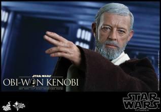 Hot Toys Obi Wan Kenobi - gesturing
