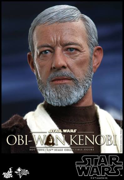 Hot Toys Obi Wan Kenobi - head close up