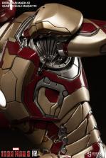 Iron Man Mark 42 maquette - armor detail