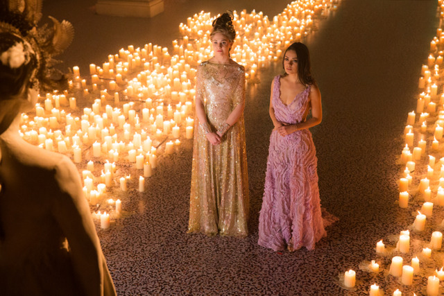 Jupiter Ascending - Tuppence Middleton and Mila Kunis