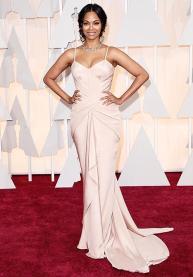 Oscars 2015 - Zoe Saldana