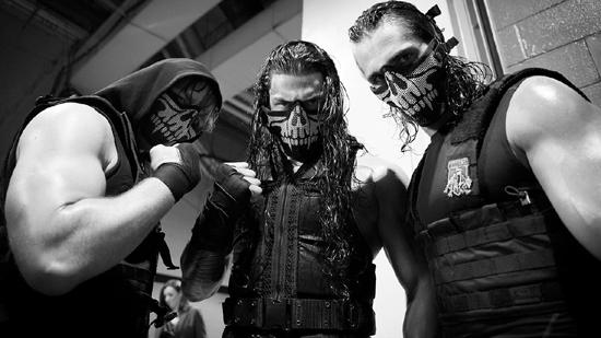 Destruction of The Shield - skull masks