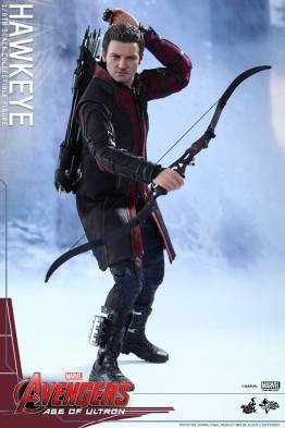Avengers Age of Ultron Hawkeye figure - drawing arrows