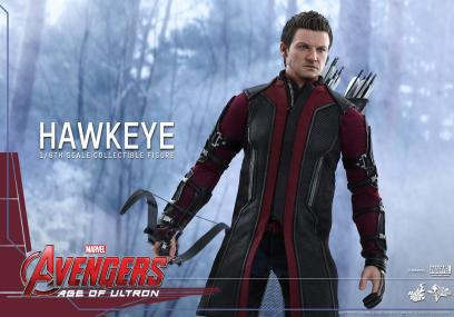 Avengers Age of Ultron Hawkeye figure - wide detailed