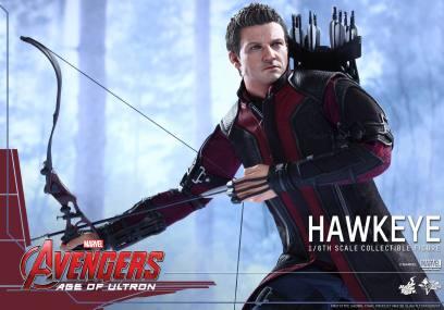 Avengers Age of Ultron Hawkeye figure - wide shot