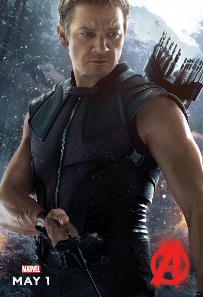 Avengers Age of Ultron - Hawkeye solo poster