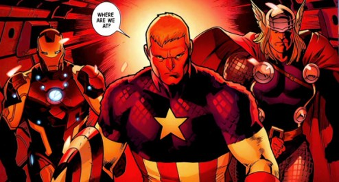 Avengers Big 3 - Iron Man, Captain America and Thor