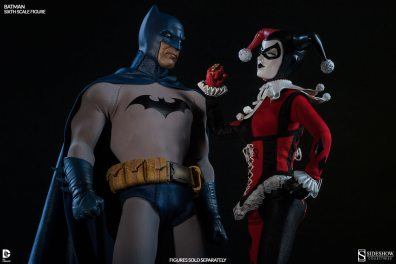 Batman Sideshow Collectibles 12 inch figure - with Harley Quinn