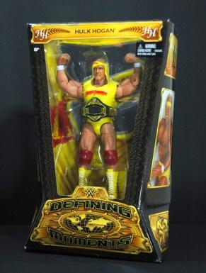 Hulk Hogan Defining Moments figure - in package