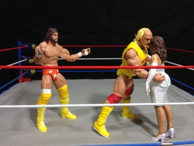 Hulk Hogan Defining Moments figure - Mega Powers friction