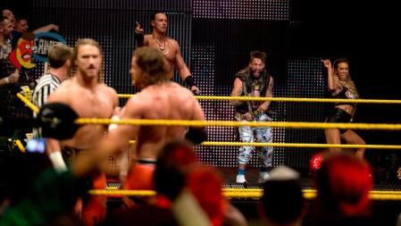 NXT 3-18-15 - Cass, Enzo and Carmela