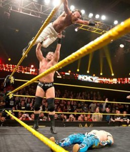 NXT_3-11-15 - Enzo and Cass vs Lucha Dragons