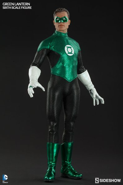 Sideshow Collectibles - Green Lantern Sixth Scale figure - no effect pic