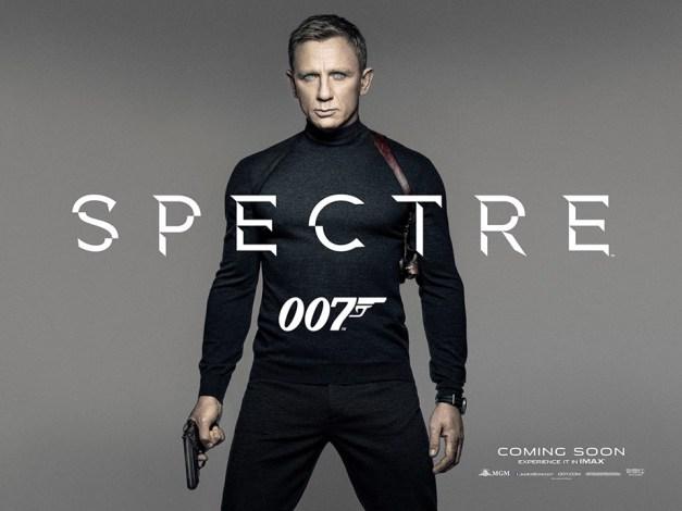 Spectre - Daniel Craig promo poster