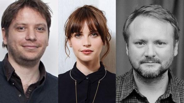 Star Wars Rogue 1 and Episode VIII Felicity Jones Gareth Evans