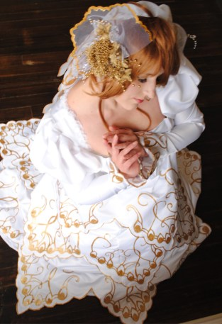 Stephanie Stork cosplay - Sakura from Tsubasa Reservoir Chronicle Serenity