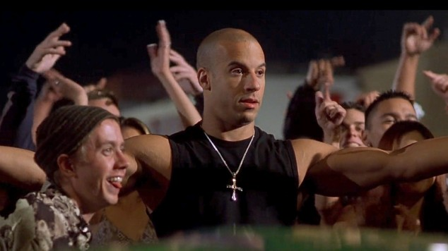 The Fast and The Furious - Chad Lindberg and Vin Diesel