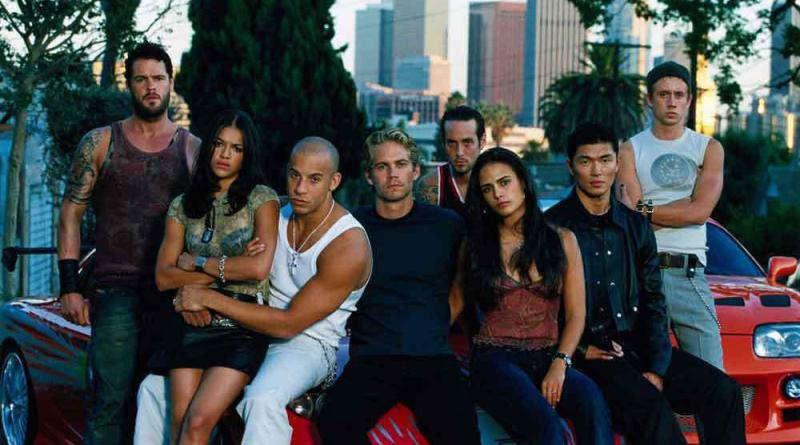 The Fast and The Furious main cast