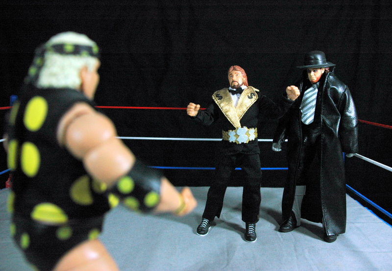 The Undertaker Wrestlemania Heritage - facing off Dusty Rhodes