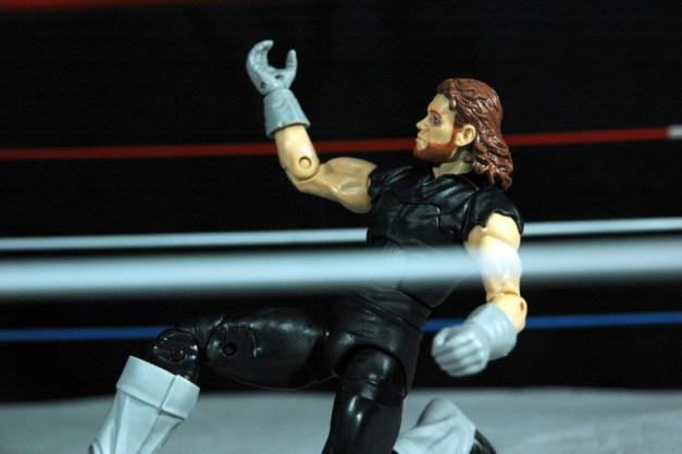 The Undertaker Wrestlemania Heritage - kneeling