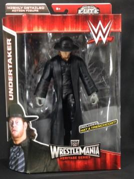The Undertaker Wrestlemania Heritage Series - package front.