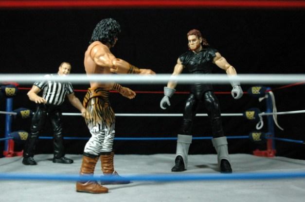The Undertaker Wrestlemania Streak - vs. Superfly - stare down