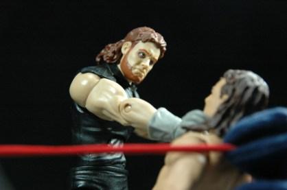 The Undertaker Wrestlemania The Streak - vs Jake the Snake - choking out