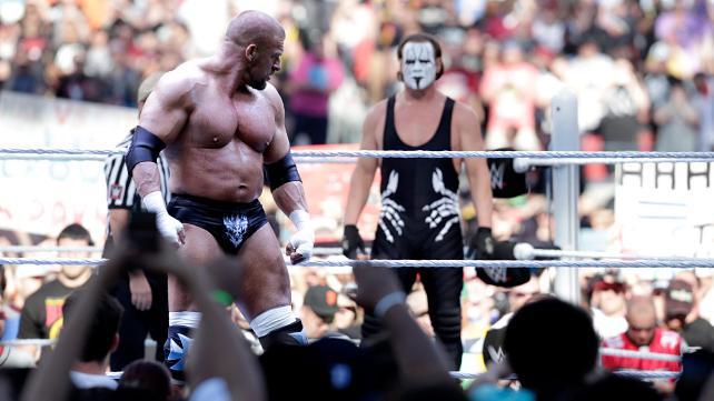 Wrestlemania 31 - Triple H and Sting