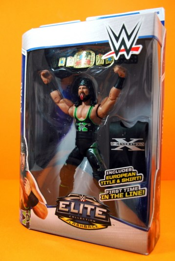 WWE Elite 33 X-Pac - side shot package