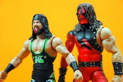 WWE Elite 33 X-Pac -walking with Kane2