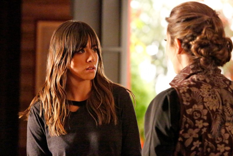 Agents of SHIELD - Melinda - Skye and Jiayin
