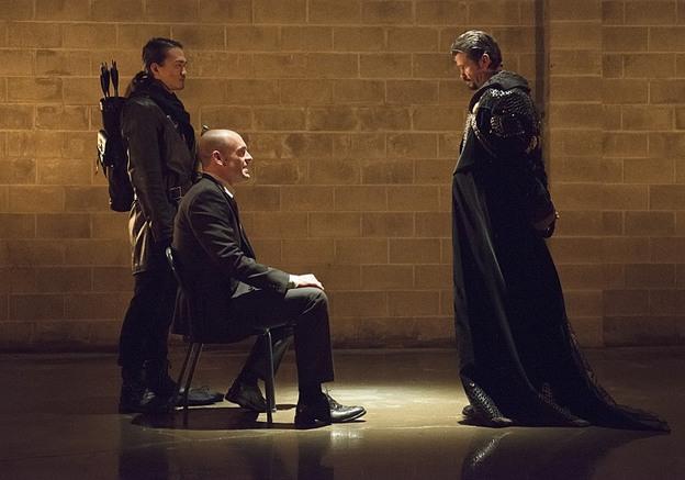 Arrow - Public Enemy - Maseo, Lance and Ra's al Ghul