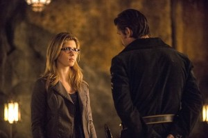Arrow - The Fallen - Felicity and Ra's al Ghul