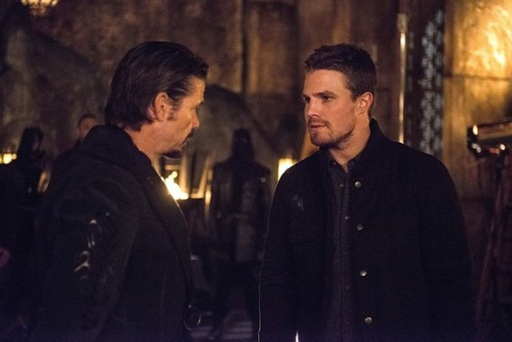 Arrow - The Fallen - Oliver and Ra's al Ghul