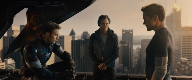 Avengers - Age of Ultron - Captain America, Bruce Banner and Tony Stark