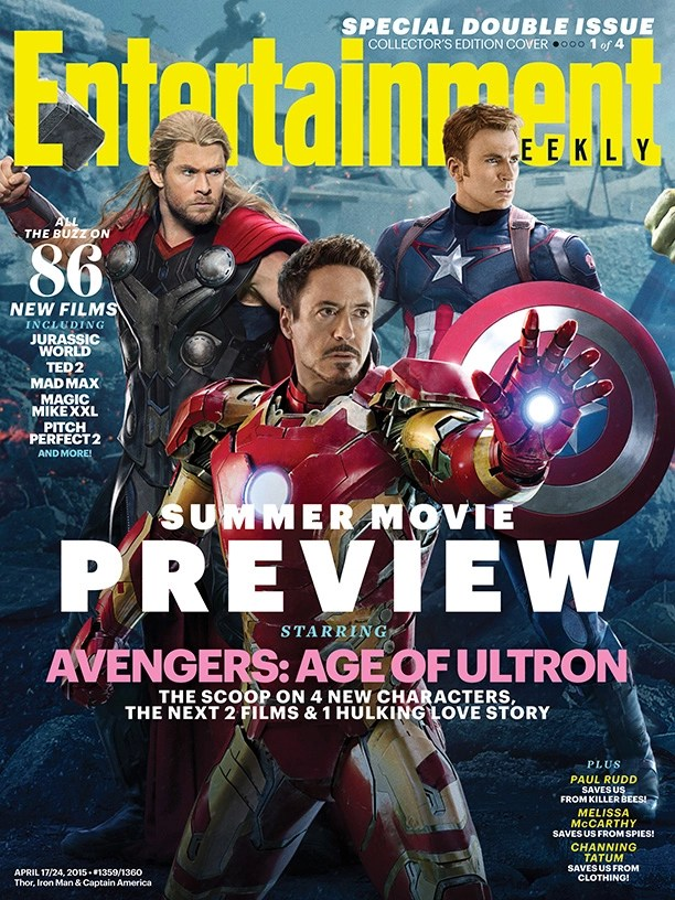 Avengers Age of Ultron EW cover