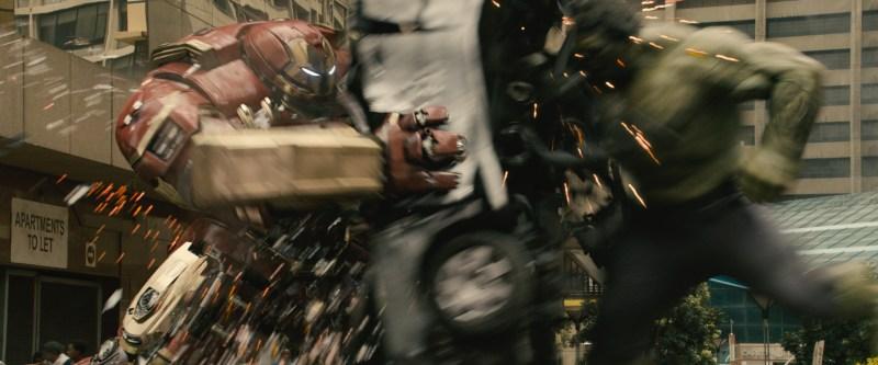Avengers - Age of Ultron - Hulkbuster Iron Man vs Hulk
