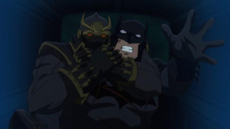 Batman vs Robin--Batman vs Owl