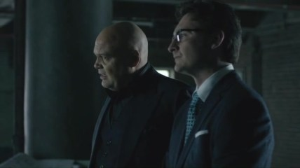 Daredevil Netflix - Shadows of the Glass - Fisk and Wesley
