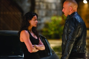 Universal Pictures Letty (Michelle Rodriguez) and Dom (Vin Diesel) reunite.