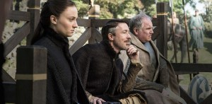 game-of-thrones-season-5-episode-1-the-wars-to-come - sansa stark and littlefinger