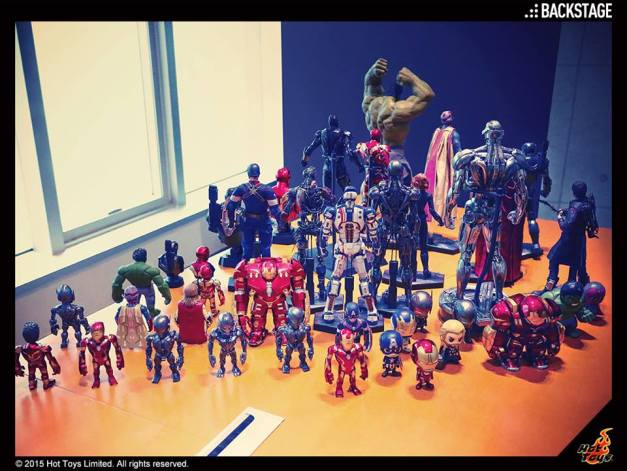 Hot Toys Asia tour - Hot Toys Vision tease and Ultron Avengers