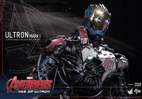 Hot Toys Avengers Age of Ultron - Ultron Mark 1 - first look