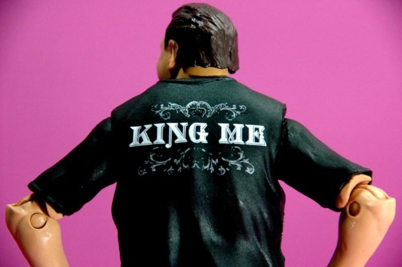 Jerry Lawler figure Basic 49 - Mattel - King Me