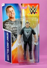 Jerry Lawler figure Basic 49 - Mattel - package front
