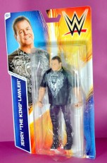 Jerry Lawler figure Basic 49 - Mattel - package side