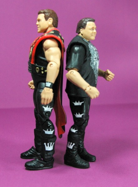 Jerry Lawler figure Basic 49 - Mattel - scale with Elite 18 figure