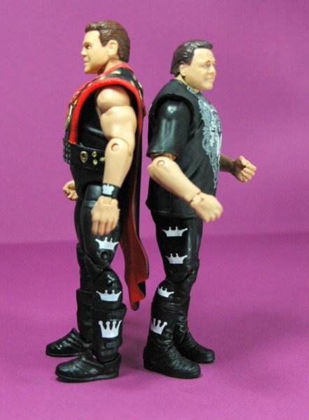Jerry Lawler figure Basic 49 - Mattel - scale with Elite 18 figure